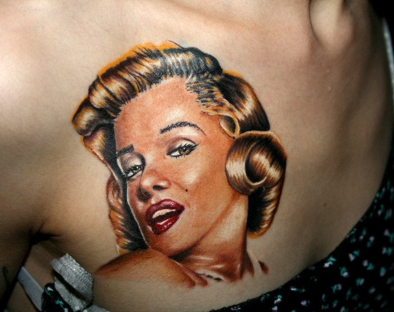 Today we have selected some stunning Marilyn Monroe Tattoo from a ...