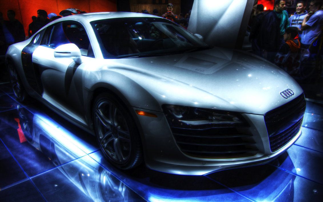 Audi R8 HDR