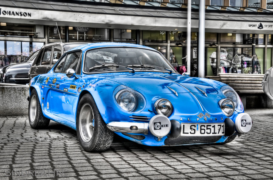 Blue Alpine HDR