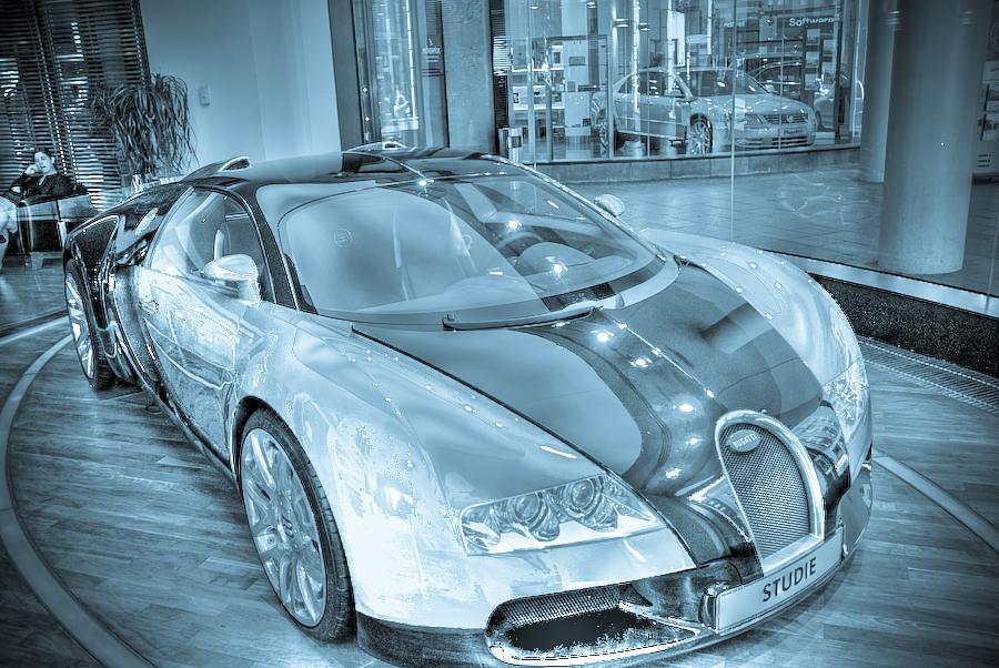 HDR Test 1 - Bugatti Veyron