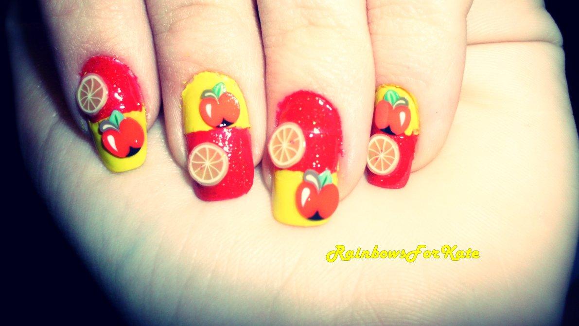 Nail Art - Fruits
