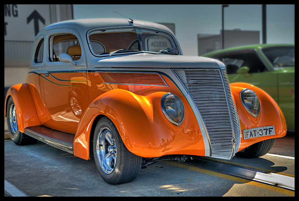 Orange Hot Rod HDR