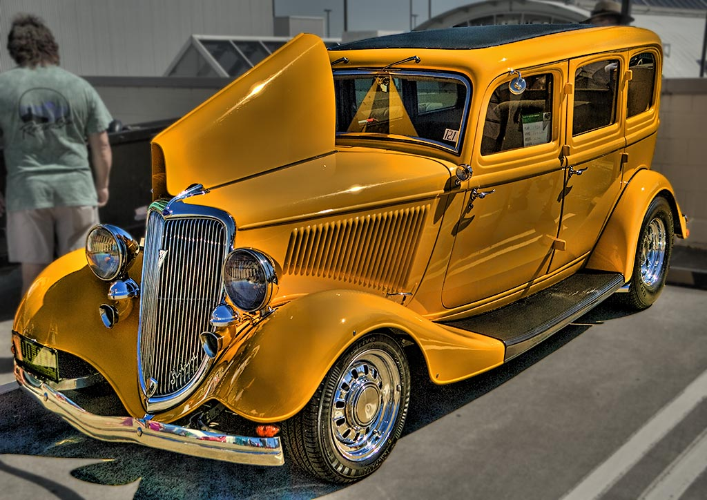 Yellow Rod HDR