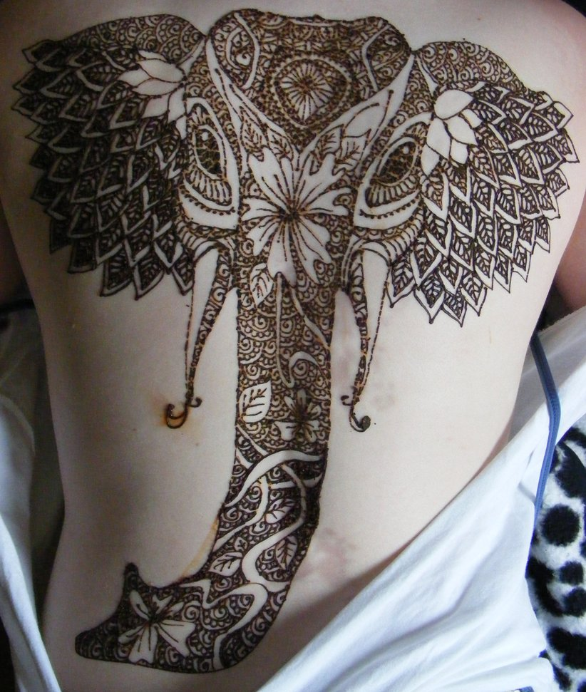 35 beautiful henna tattoo designs entertainmentmesh for Henna body tattoo