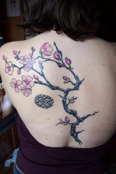 Cherry Blossom Tattoo art