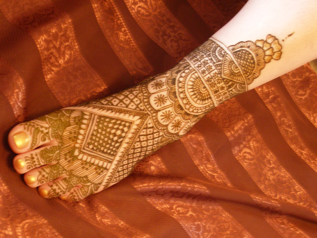 Indian Pakistani Mehndi Design