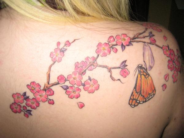 New Cherry Blossom Tattoo