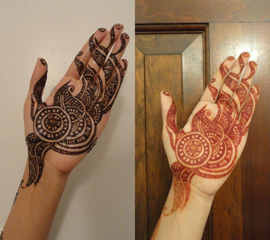 Aug Eid Henna