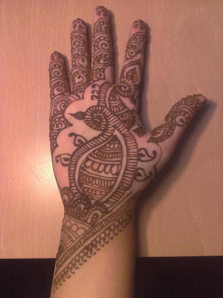 Henna on Eid