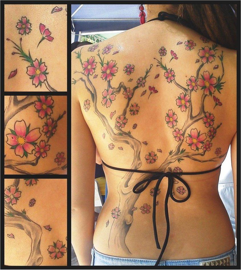 Sakura -Cherry Blossom- Tattoo