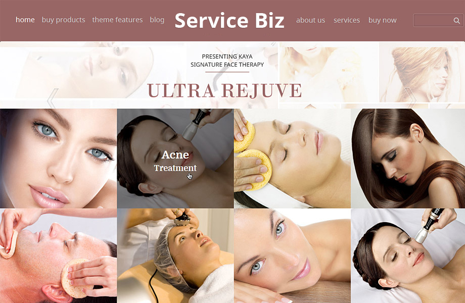 Best Premium Spa and beauty Salon WordPress Themes
