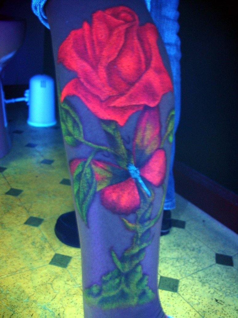 Blacklight Rose
