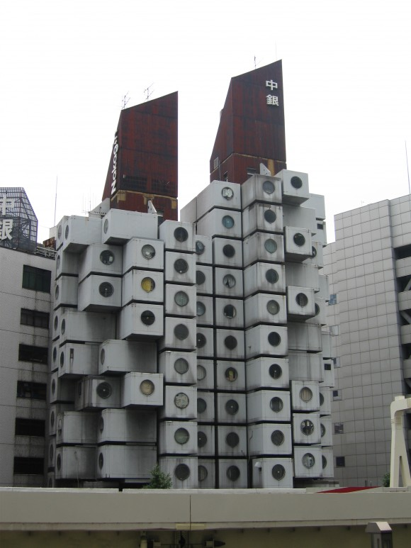 Nakagin Capsule Tower, tokyo, Kisho Kurokawa