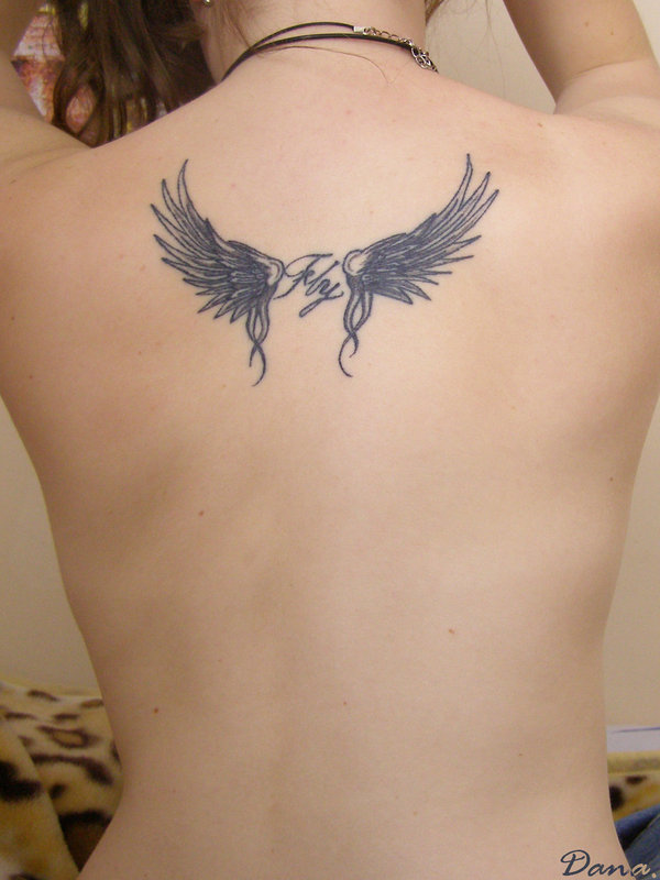 Wings to FLY- my first tatoo