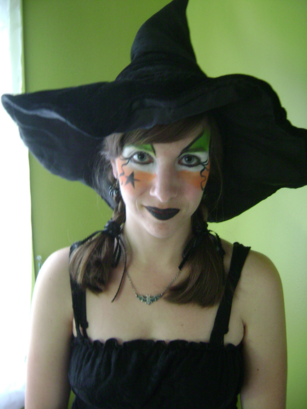 Gallery For &gt Easy Halloween Witch Makeup - Simple Halloween Makeup