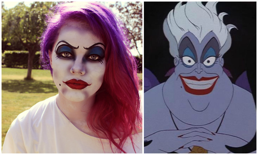Sea Witch Costume Ideas Ursula the sea witch makeup