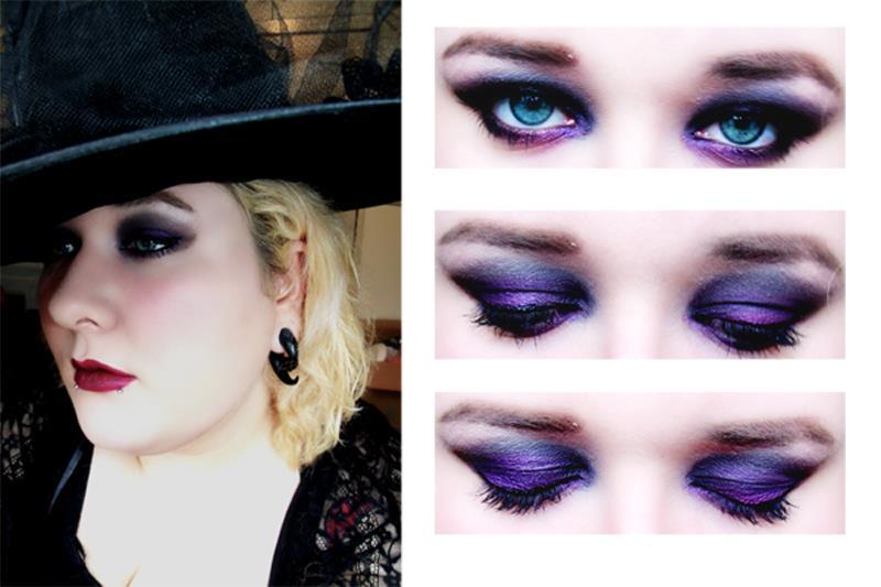 halloween witch makeup look