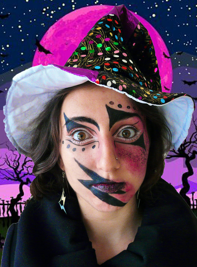 pictures of witch makeup