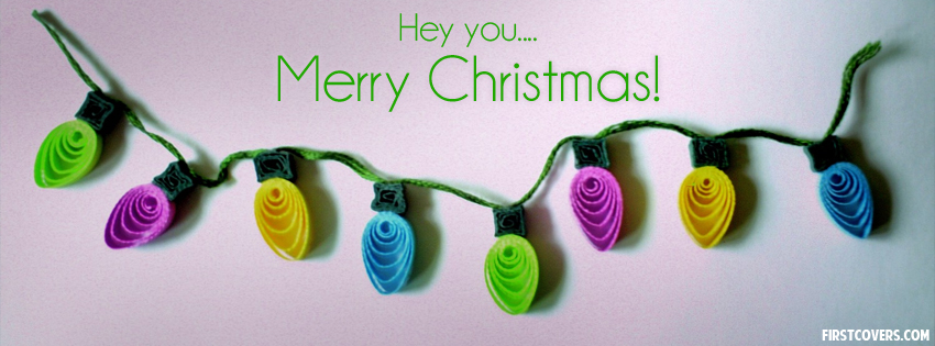 Merry Christmas Facebook Cover