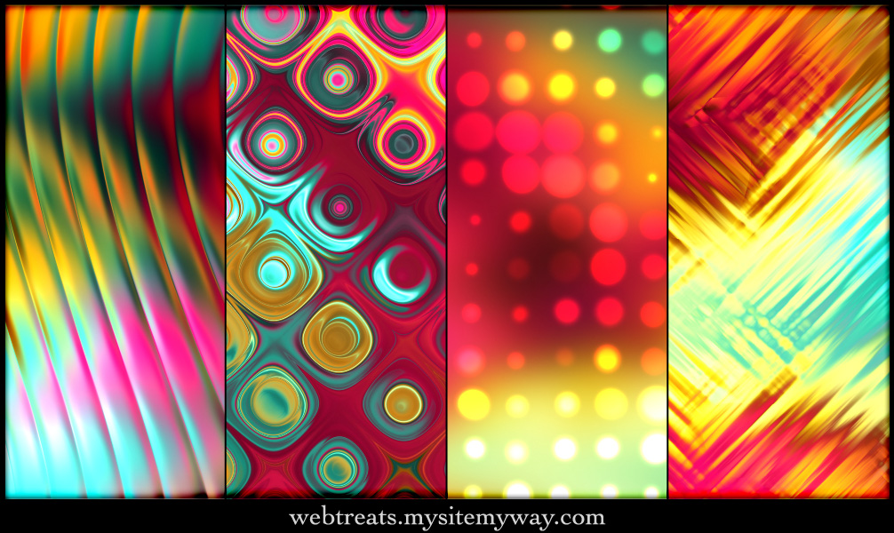 Tropical Abstract Patterns