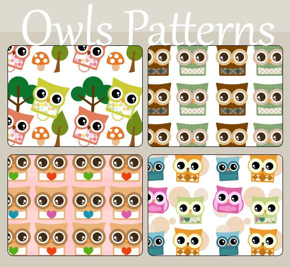Owls Patterns
