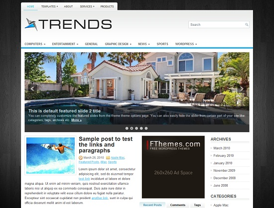 Best Free WordPress Theme