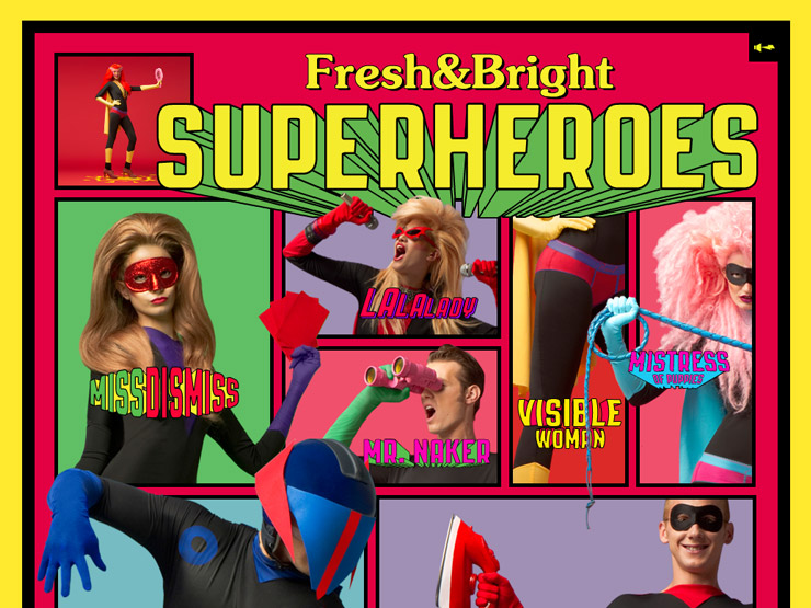 Diesel Fresh & Bright Superheroes