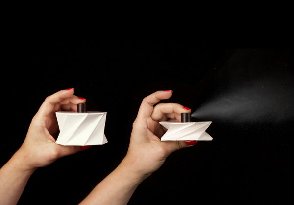 Leroux - a cardboard packaging for perfume