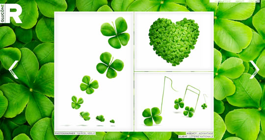 Green Website Design - Glucone R