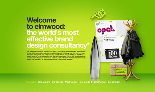Green Website Design - elmwood