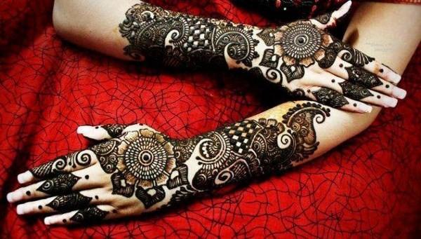 Arabic Henna Design For Eid Ul Fitr
