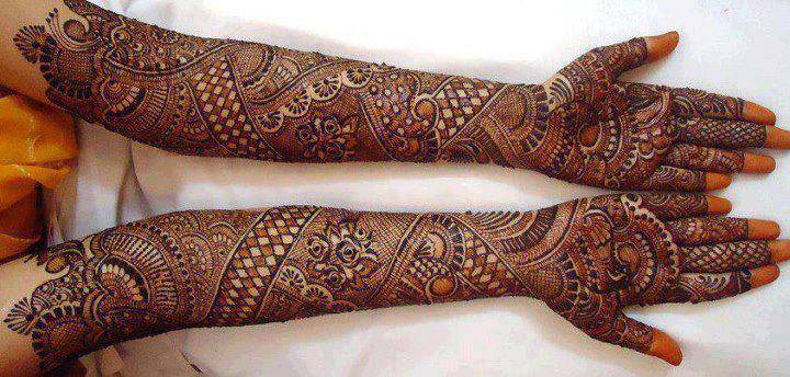 Arabic Henna Pattern For Eid Ul Fitr