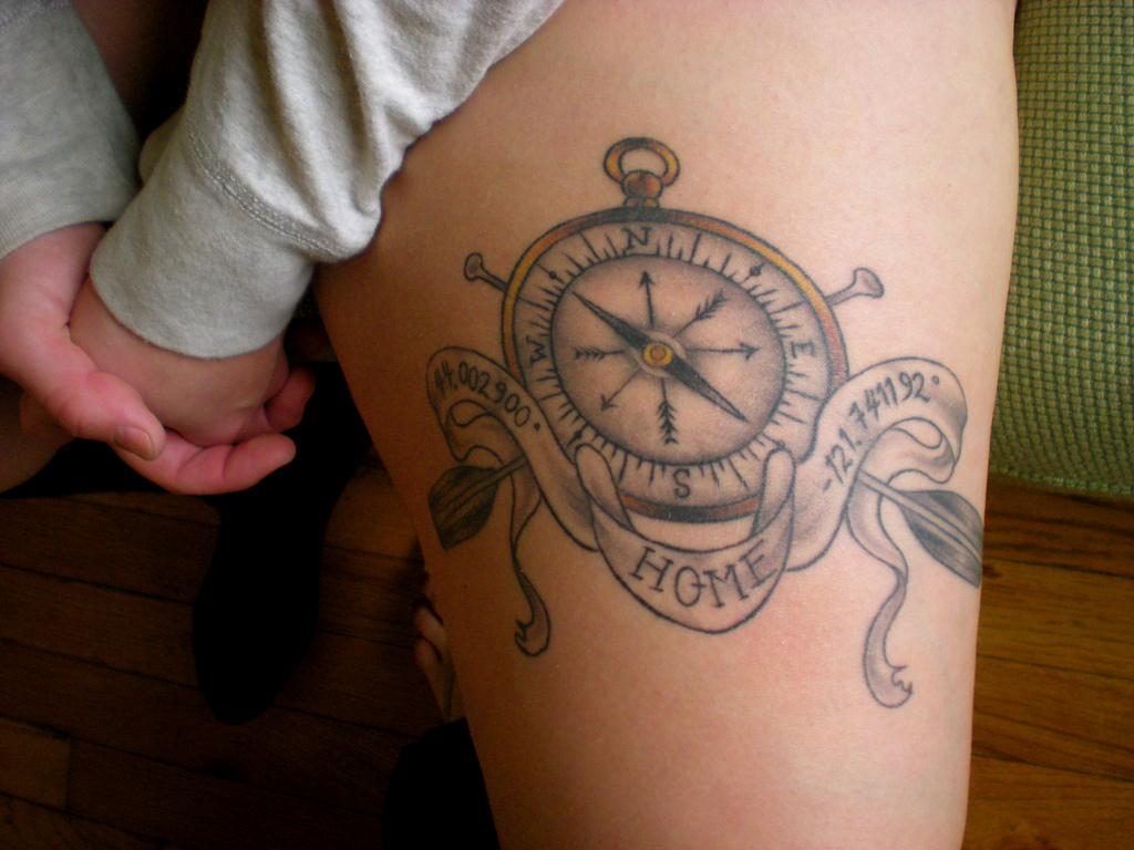 nautical coordinates plus compass