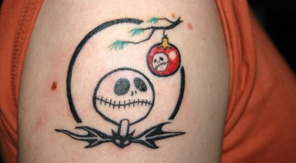 Jack Skellington Tattoo