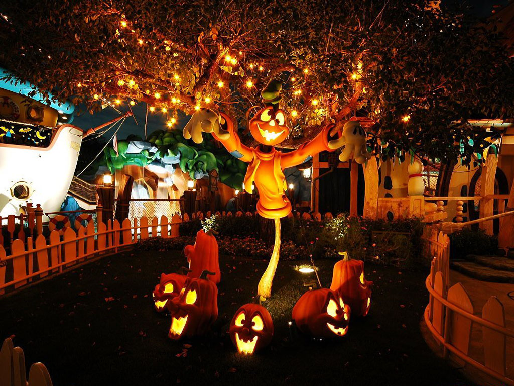 Awesome ideas of creepy cool outdoor halloween decorations for Decoration halloween