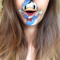 Donald Duck Lip Art