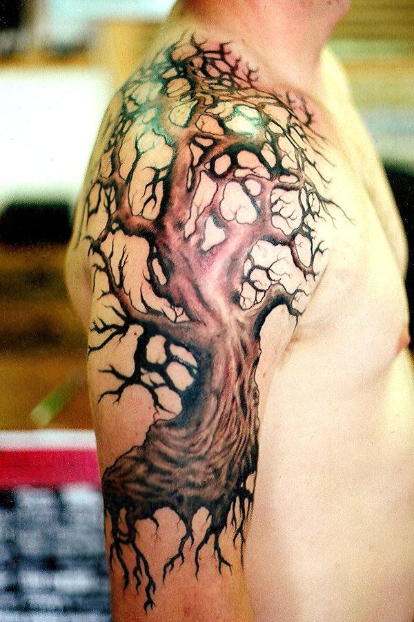 Old Tree Tattoo