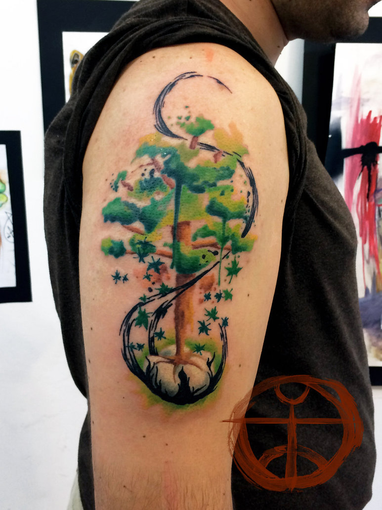 30+ Symbolic Tree Tattoo Designs