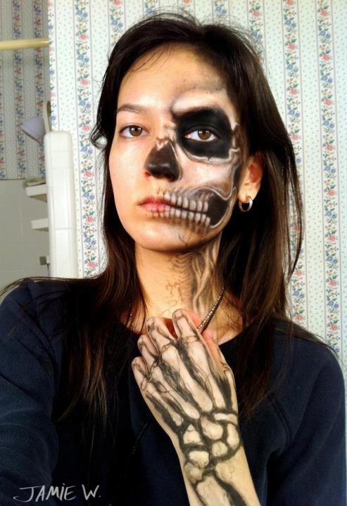 40 the most creepy halloween makeup ideas