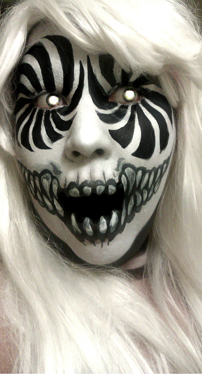 40 the most creepy halloween makeup ideas
