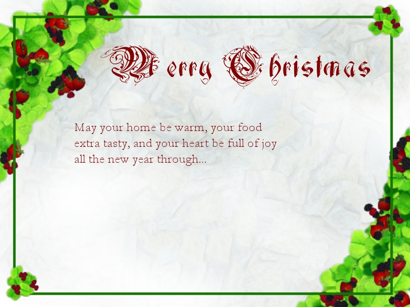 12 Christmas Card Free