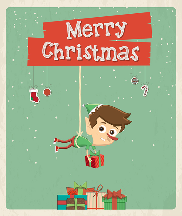 35+ Great Christmas Greeting Card Designs  EntertainmentMesh