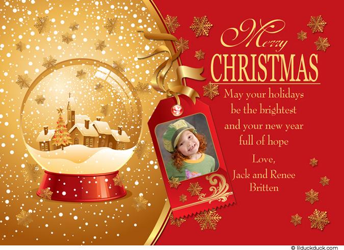 2 christmas card