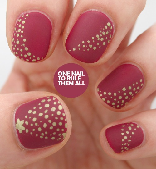 Christmas Nail Art Ideas: 30 Best Christmas Nail Art Design Ideas Pictures 2015