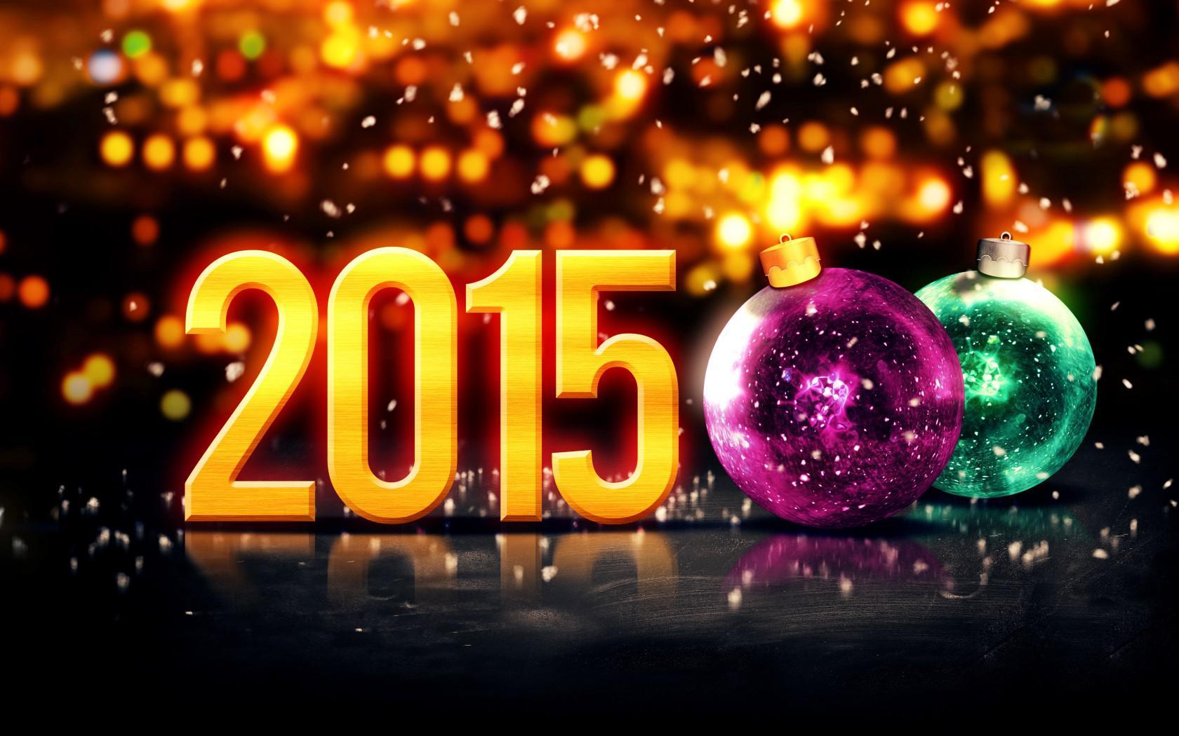 Merry Christmas 2015 Night Bokeh