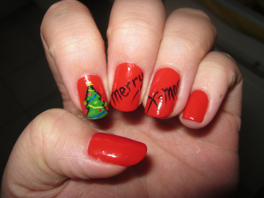 holiday nail art 30 best nail design ideas pictures 2015 10075