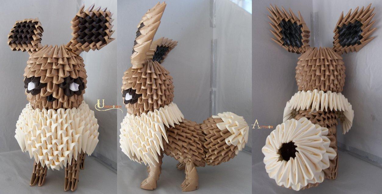 3D Origami - Eevee