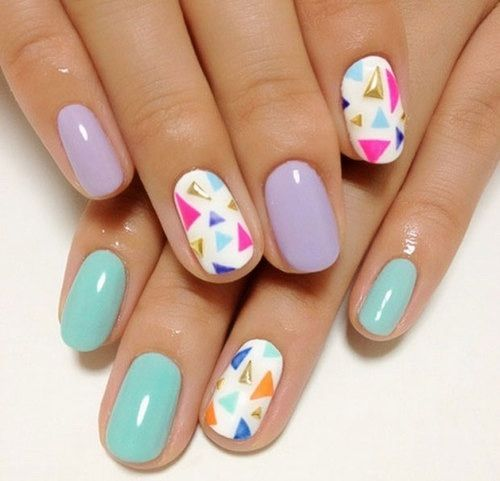Beautiful summer nails 2015
