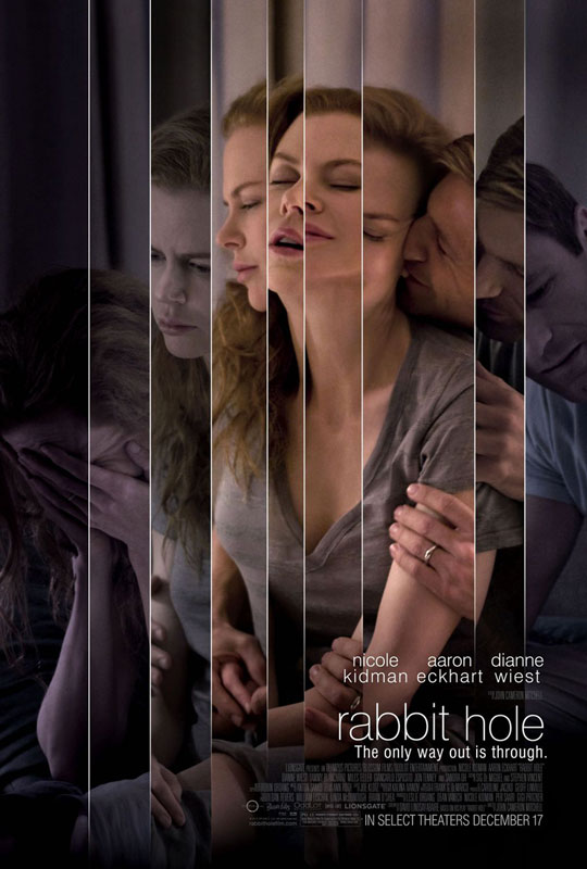 Rabbit Hole - great movie poster design