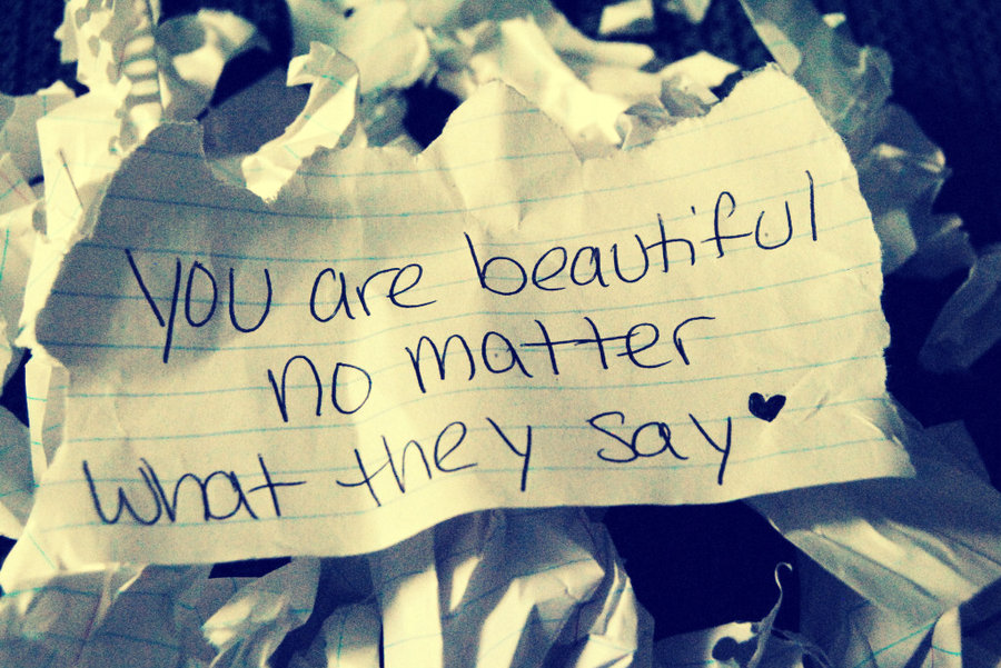 You are beautiful 1